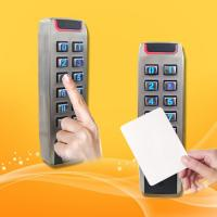 Best Portable RFID Proximity Card Reader With Keypad High Security Level wholesale