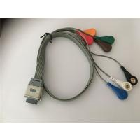 Best Compatible edan SE2003/ SE2012 bi9800/9000 ecg leads holter  cable wholesale