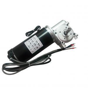 Cheap Brake with Door opener motor for blush Door Motor 24VDC 65W 3200RPM black for sale