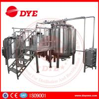Best Energy Efficient Beer Making Machine Home Brew Equipment PLC Or Touch Screen wholesale