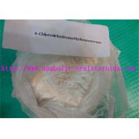 Best Anabolic Testosterone Steroids Powder 4-Chlorodehydromethyltestosterone/(Oral Turinabol) for Bodybuilding CAS 2446-23-3 wholesale