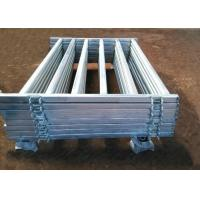 Best Pre Hot Dipped Galvanized Sheep Cattle Panels Livestock Fence Panels 5Rails With Oval Tube 30X60MM wholesale