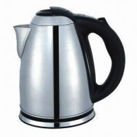 China 1.5L 201 Stainless Steel Electric Kettle, Easy to Use and Clean on sale