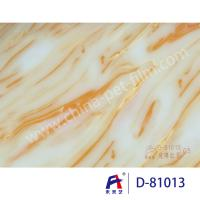 Best Weilaiyi Marble PVC Coating Window Decorative Film 0.12-0.18mm Thickness wholesale