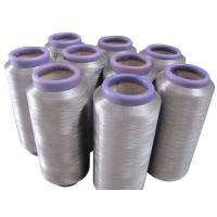 Cheap silver fiber conductive yarn, silver coated yarn for sale