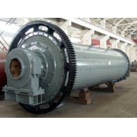 Best SGS Cylindrical Rotating Ball Mill Machine For Crushing Material wholesale