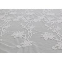 Cheap Bird Floral Mesh Embroidered Dying Lace Fabric Custom Lace Design For Prom Dress for sale