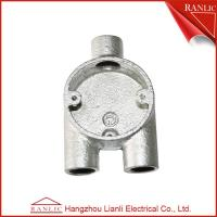 Best Malleable Iron Conduit Junction Box Y Way Branch 3 Way Junction Box / Eco Friendly wholesale