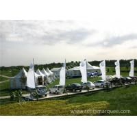 Quality Rustless Alumunim Alloy Profile  Array High Peak Tents Shelter in White wholesale
