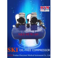 Cheap K0013 SKI dental one for four silence oil-free air compressor (60L) CE for sale