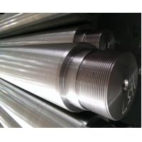 Tensile Strength > 750 Mpa Chrome Piston Rod For Hydraulic Cylinder
