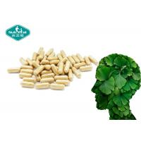 Best Wellness Natural Herbal Dietary Supplement / Film Coating Ginkgo Biloba Capsule wholesale