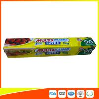 Best Anti Fog Clear Cling Film For Packing Vegetable / Fruit , Biodegradable Cling Wrap wholesale