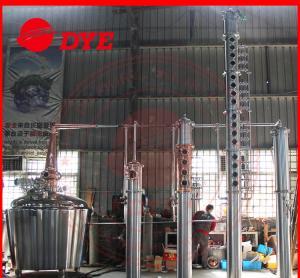 Best Vodka Copper Relux Column , Craft Distillery Equipment Distillery wholesale