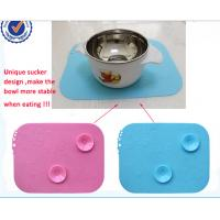 Best BPA free Reuse Smooth Suction - Cup Style Baby Diner Mat Silicon For Chidren wholesale