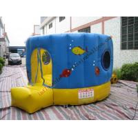 Best Colorful Inflatable Castle Bouncer With Round Shaped for Family wholesale