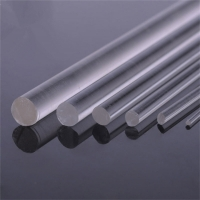Best Clear OD 18mm Length 2m Acrylic Tubes Rods Acrylic Curtain PMMA Rods Cut To Size wholesale