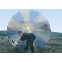 Best UV Protective Pool Hamster Ball , Inflatable Water Walking Ball With CE Blower wholesale