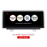 Best 10.25 inch Android 7.1 Car Navigation Player Auto Multimedia Car Audio for BMW F20 F21 F23 Cabrio With NBT System wholesale