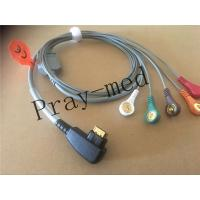 Best Compatible DMS 300 system holter 5lead ecg cable with 19pin snap wholesale