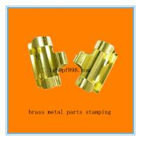 Quality stamping parts ,made of copper ,electroplating gold color wholesale