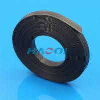 Best adhesive rubber strong thin magnetic strips wholesale