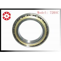 Best NSK Ball Bearings Chrome Steel Smooth Rolling High Precision 7201C wholesale