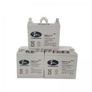 Best 33A 24A 55A Energy Power Deep Cycle Lead Acid Battery 16kg 156mm Height wholesale