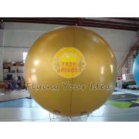 Best Full Digital Printed Gold Color Inflatable Advertising Helium Balloon for Celebration day wholesale