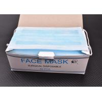 Best Hygienic Surgical Non Woven 3 Ply Disposable Face Mask Pleated Mask With Ear Loop wholesale