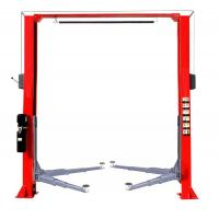 Best QJ-Y-2-45A Hydraulic Clearfloor 2 Post Car Lift Manual Release with good quality wholesale