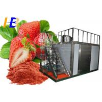 Best Stainless Steel Food Pulverizer Machine For Strawberry Powder 10 - 700 Mesh Size wholesale