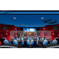 Best Wonderful Customize 5D Cinema System With Three - Seats Special Motion Platform wholesale