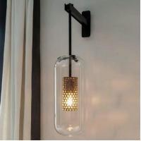 Cheap Modern Indoor Wall Sconce Glass Lamp Lighting Fixtures for sale