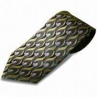 Best 100% Silk/Polyester Colorful Necktie, Handmade, OEM Orders are Welcome, Fashionable Design wholesale