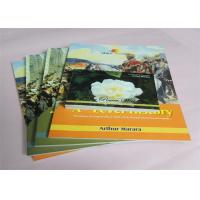 Best Commercial Offset Printed Softcover Book Full Color / One Color Case Bound wholesale