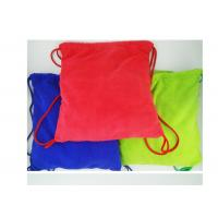 Best Multi purpose Microfiber Drawstring Beach Towel Bag , Colorful Folding Beach Towel Bag wholesale