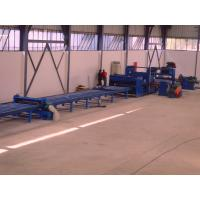 China 37kw scrape edge slitting and Taper Cutting Machine , cut to length line for light pole on sale