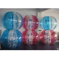 Best Colorful Inflatable Bubble Ball Zorbing Soccer Bumper Ball For Outdoor Play wholesale