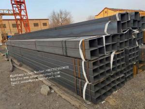 China MS galvanized steel pipe/ galvanized hollow section/Cold rolled Pre Galvanized Welded Square/Rectangular Steel Pipe on sale