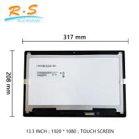 Best 13.3 Inch FHD B133HAB01.0 touch screen lcd panel for  Acer laptop replacement wholesale