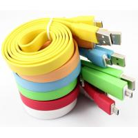 Best Big noodle cable, micro usb cable for Samsung, Iphone wholesale