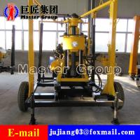 Best XYX-130 Wheel Type Hydraulic water well drilling machine rotary drilling rig /small bore well drilling machine wholesale