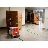 Best AGV Automated Guided Robot , Automated Guided Tugger High Guiding Accuracy wholesale