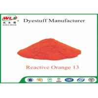 Best Textile Synthetic Fiber Reactive Dye C I Reactive Orange 13 100% Purity wholesale