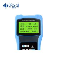Best Portable Handheld Digital Ultrasonic Liquid Flow Meter Battery Powered Light Weight wholesale