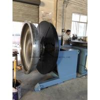 Quality Heavy Duty Rotary Welding Positioner with Rotating and Tilting Motor 2Ton at vertical position wholesale