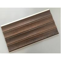 Best 25cm × 8mm Four Arcs PVC Wooden Plastic Laminate Panels Customized Length wholesale