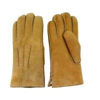 Best Men Genuine leather Lamb Fur Cheap custom made leather gloves wholesale