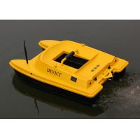 Cheap DEVC-303 RC Fishing Bait Boat , Orange deliverance bait boat 2.4GHz Remote Frequency for sale